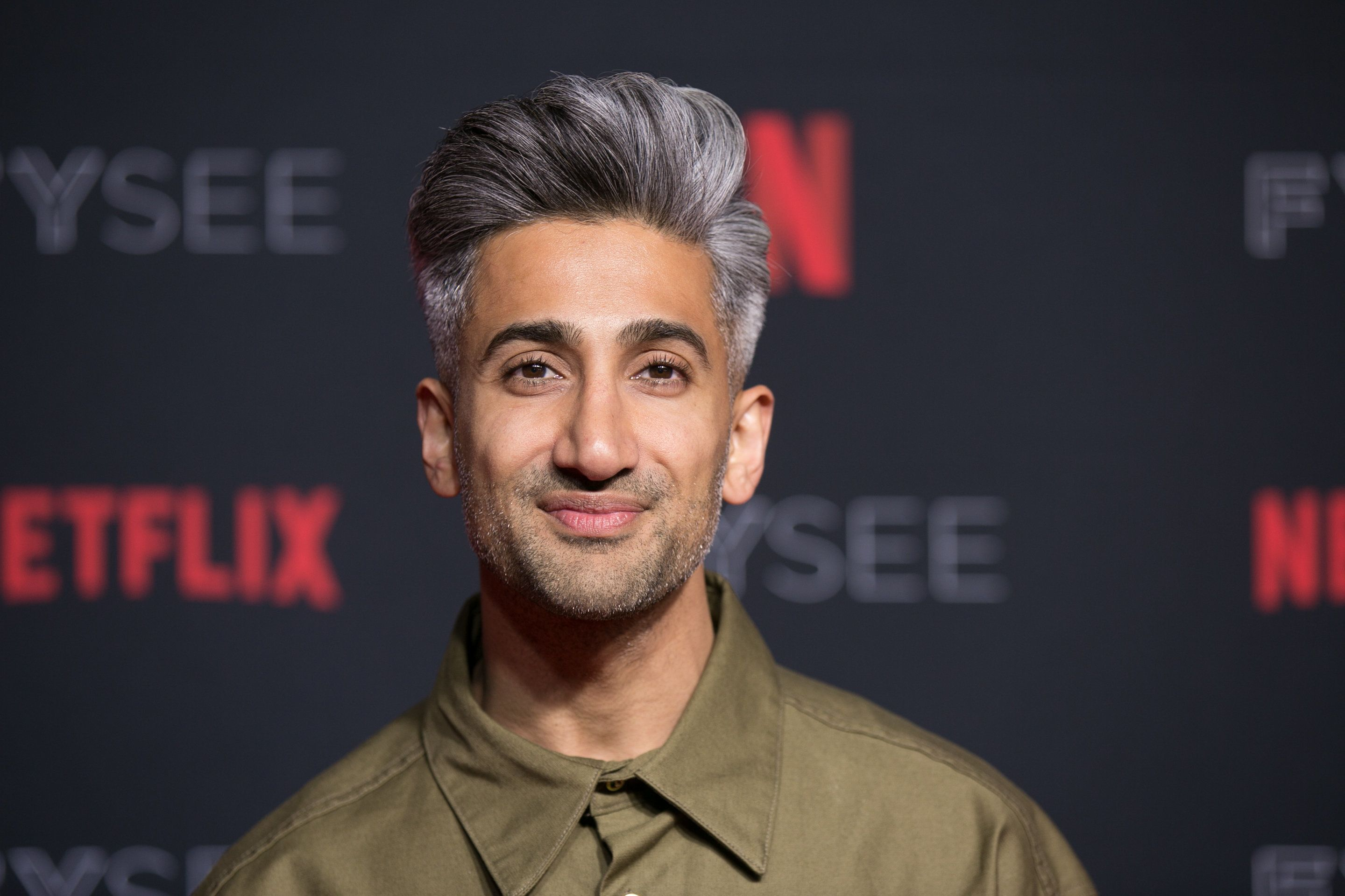 LOS ANGELES, CA - MAY 31:  Tan France attends the #NETFLIXFYSEE Event For 'Queer Eye' at Netflix FYSEE At Raleigh Studios on May 31, 2018 in Los Angeles, California.  (Photo by Gabriel Olsen/FilmMagic)