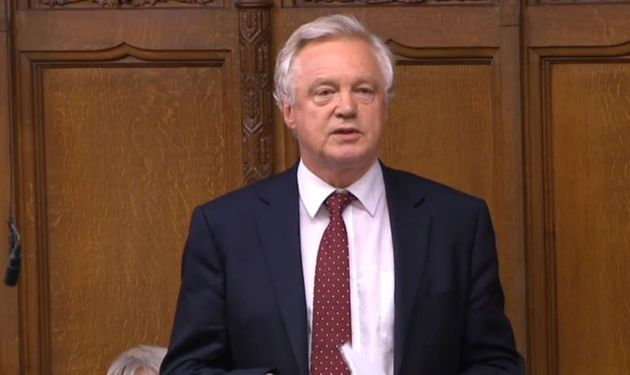 David Davis resigned from his post as Brexit Secretary earlier in