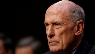 Director of National Intelligence (DNI) Dan Coats testifies before the Senate Intelligence Committee on Capitol Hill in Washington, U.S., February 13, 2018. REUTERS/Aaron P. Bernstein