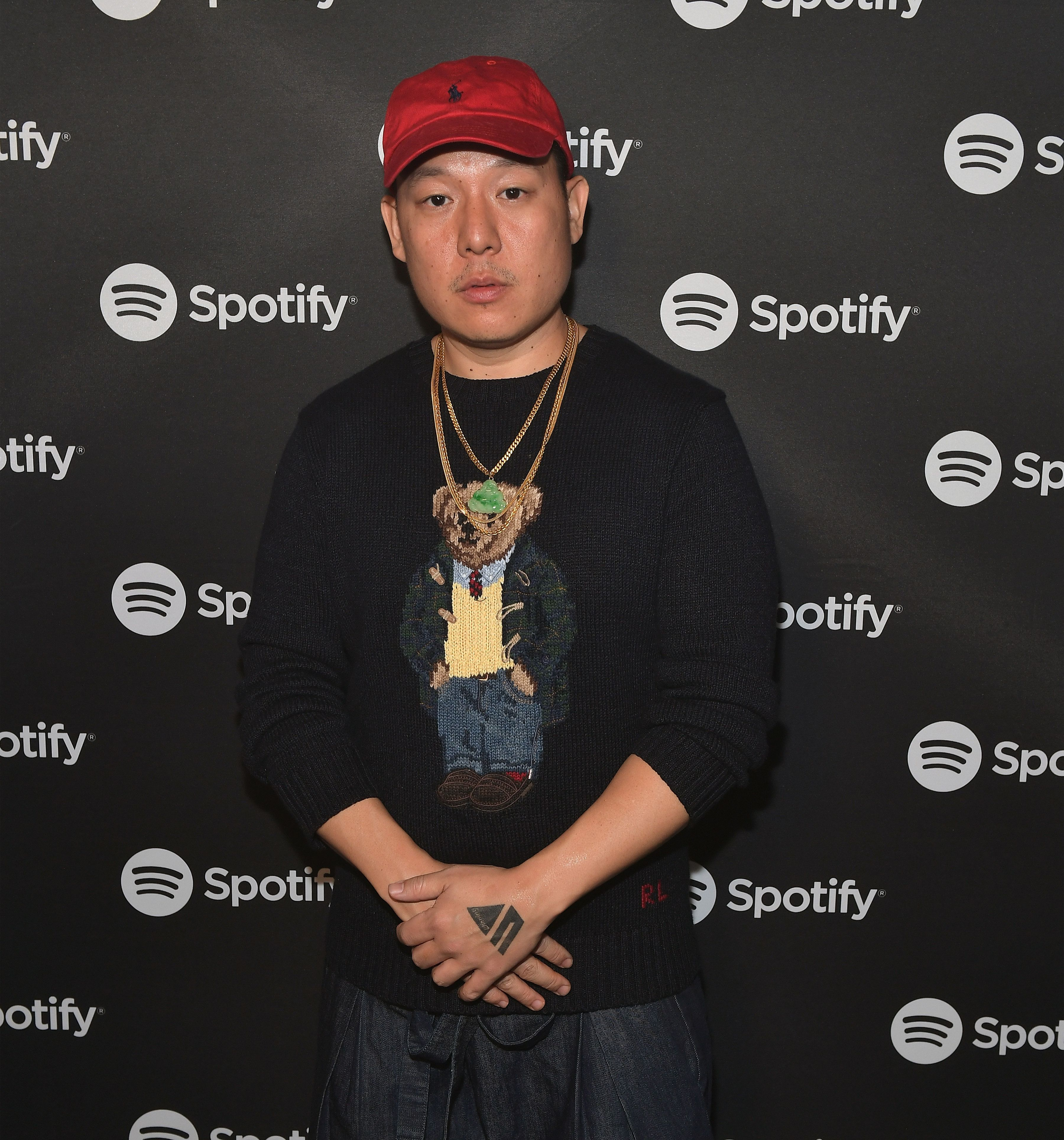 LAS VEGAS, NV - JANUARY 09:  Chef Eddie Huang attends the Spotify Supper during CES 2018 at Hakkasan Las Vegas Restaurant and Nightclub at MGM Grand Hotel & Casino on January 9, 2018 in Las Vegas, Nevada.  (Photo by Bryan Steffy/Getty Images for Spotify Supper at CES 2018)
