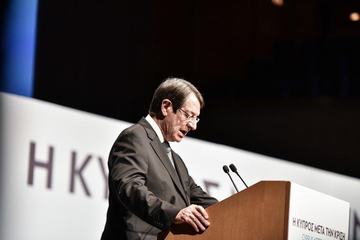 Αναστασιάδης: Συμφωνία για το Κυπριακό που θα είναι βασισμένη στην αδικία, θα είναι και καταδικασμένη να