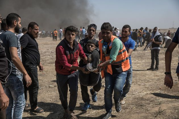 2018년 5월 14일, 예루살렘으로 이전한 이스라엘 주재 미국대사관의 개관에 반대하며 가자지구에서 시위가 일어났다. 이날 유감스럽게도 팔레스타인인 52명이 숨졌고, 무려 2410명에 가까운 수가 부상을 입었다.