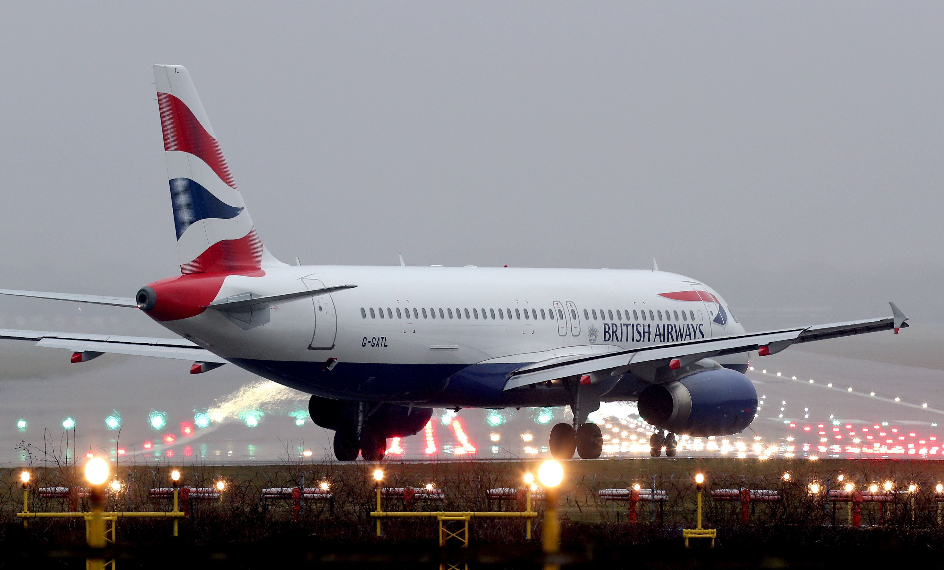 Gatwick Airport: BA Flight Emergency Closes Runway