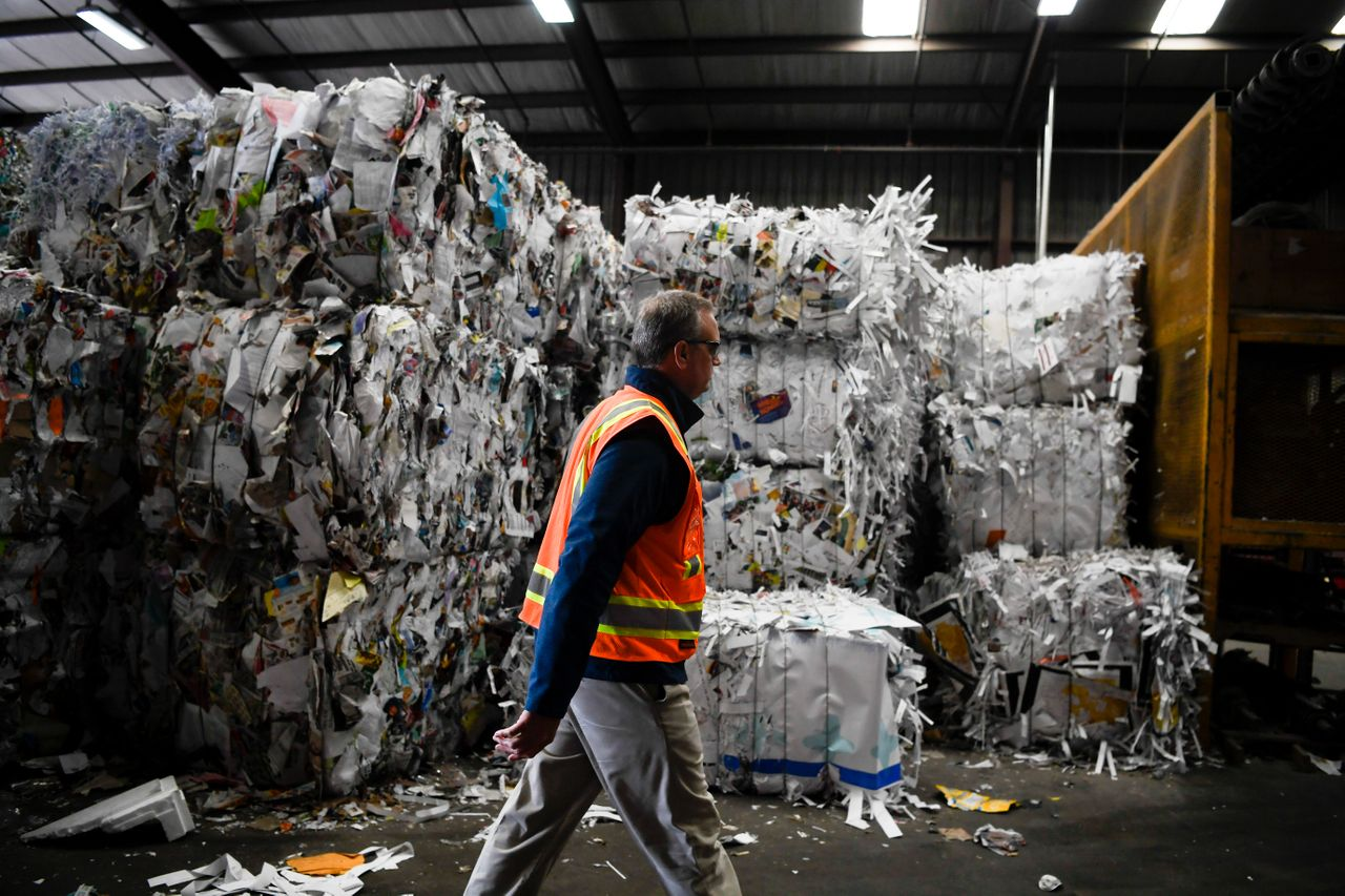 Alpine Waste & Recycling in Denver has been investing in cleaning up its paper recycling stream in an effort to meet China's new import standards.