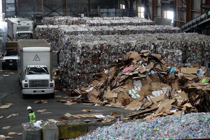 Recyclers across America have had to cancel service or scale back after China's clampdown on imports of contaminated foreign