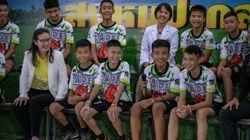 '태국 동굴 소년들'이 생환 뒤 언론에서 보이지 않는