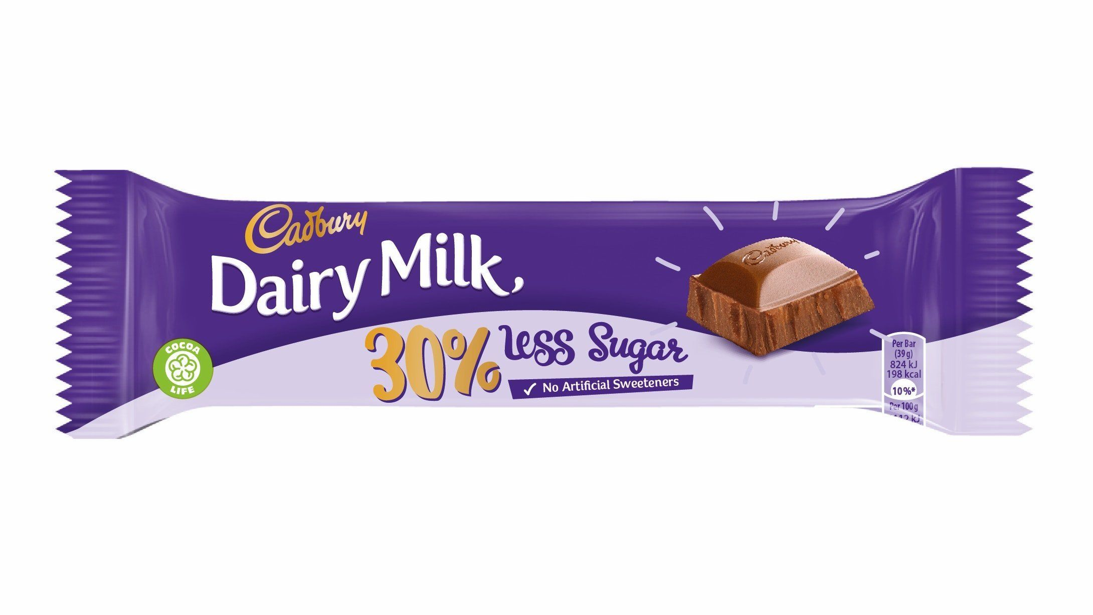 Cadbury's Cuts 30% Sugar From Dairy Milk By Replacing It With, Um,