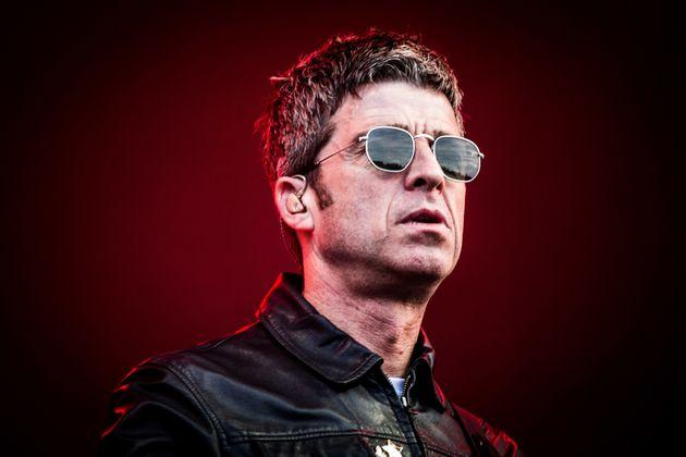 Noel Gallagher performing live last