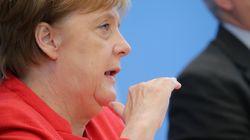 Eine Frage nach Seehofer bringt Merkel aus dem Konzept – dann wird sie deutlich