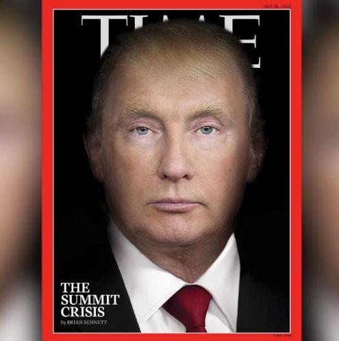 """""""Time""""-Cover zu Trump und Putin wird gefeiert – ein deutsches Magazin hatte die Idee"""