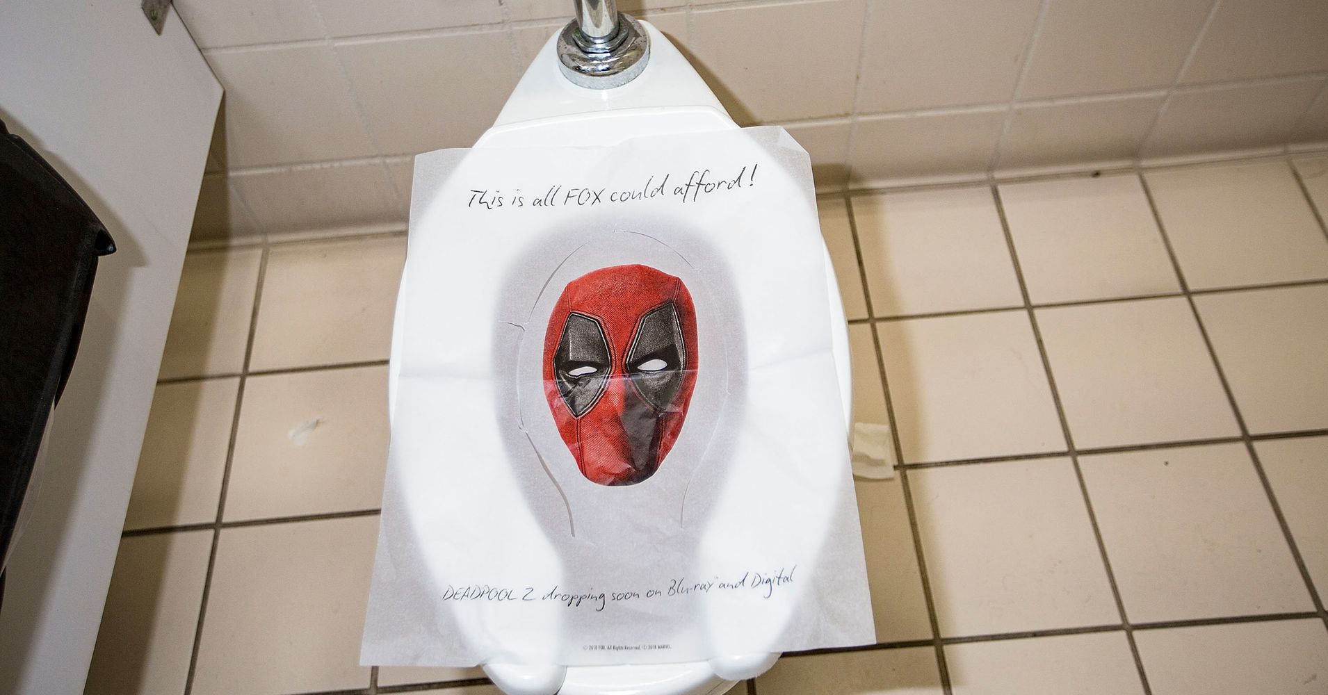 This Deadpool Toilet Seat Cover Is Something We Should All
