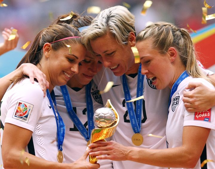 736b3742290 The United States women rsquo s team won the 2015 World Cup after defeating  Japan 5