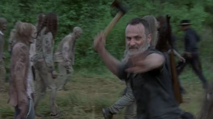 "Andrew Lincoln in ""The Walking Dead."""