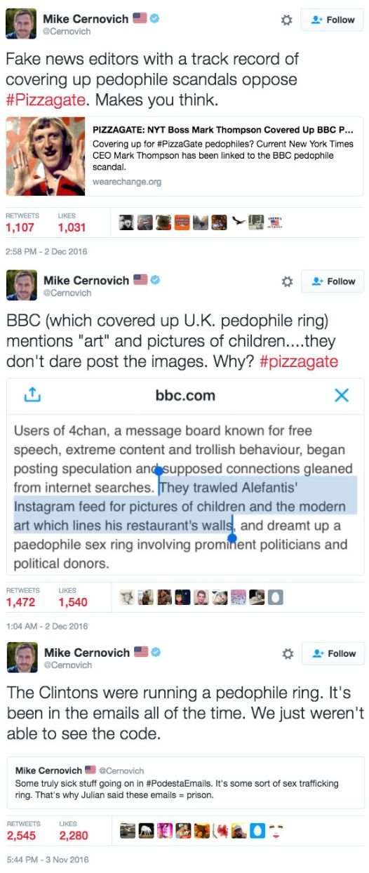 How Pizzagate Pusher Mike Cernovich Keeps Getting People