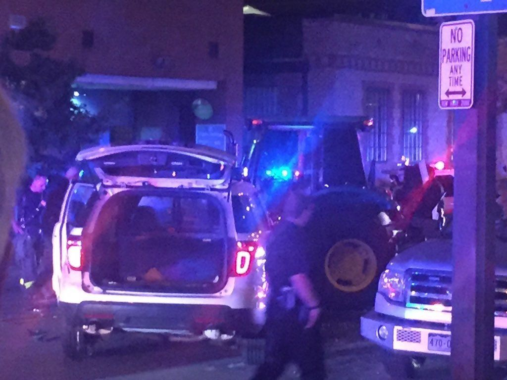 Police Injured In Bizarre Tractor Chase In Downtown Denver