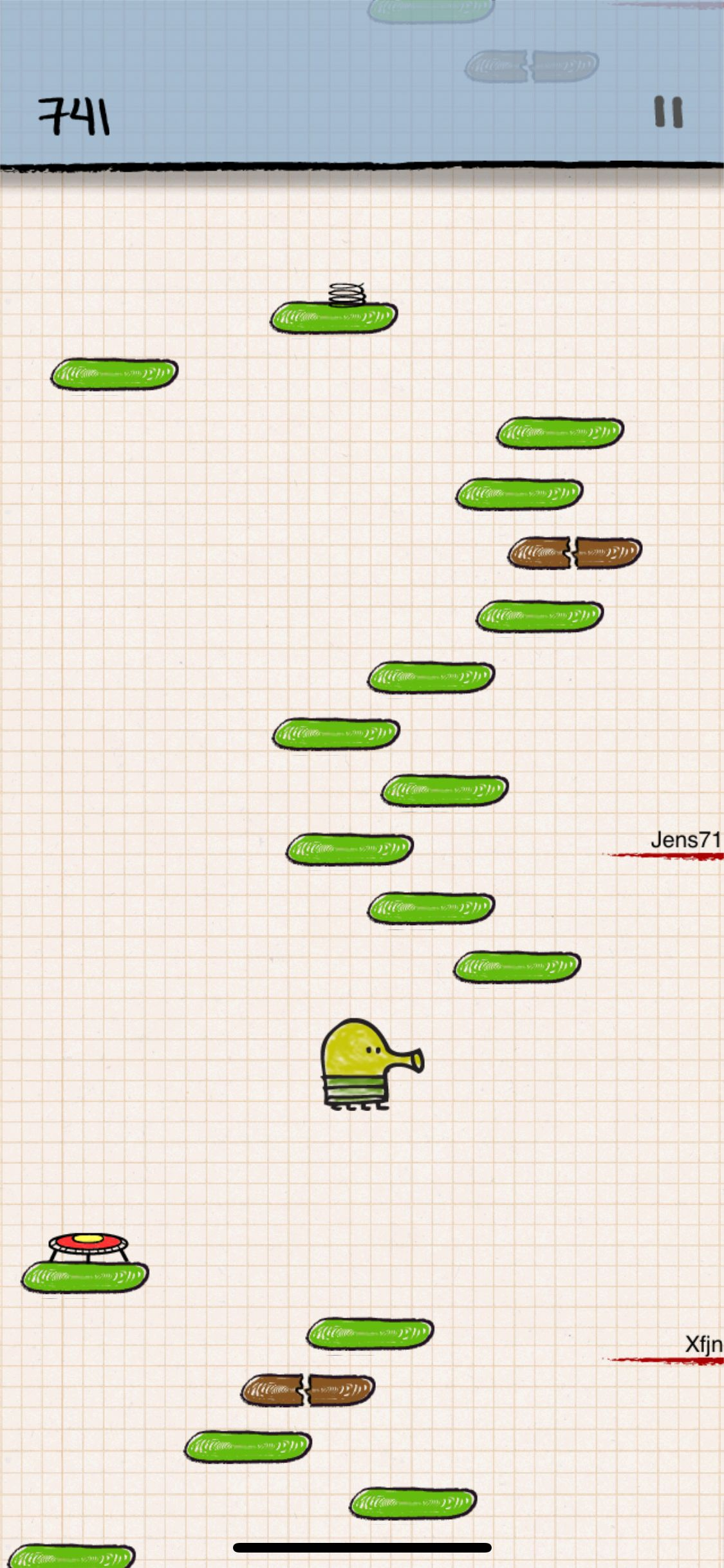 Doodle Jump Is One Of The Best Ways To Waste