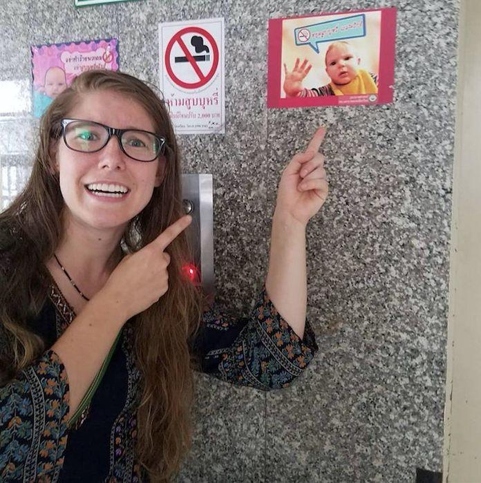 US-Amerikanerin ist in Thailand – plötzlich entdeckt sie Foto ihres