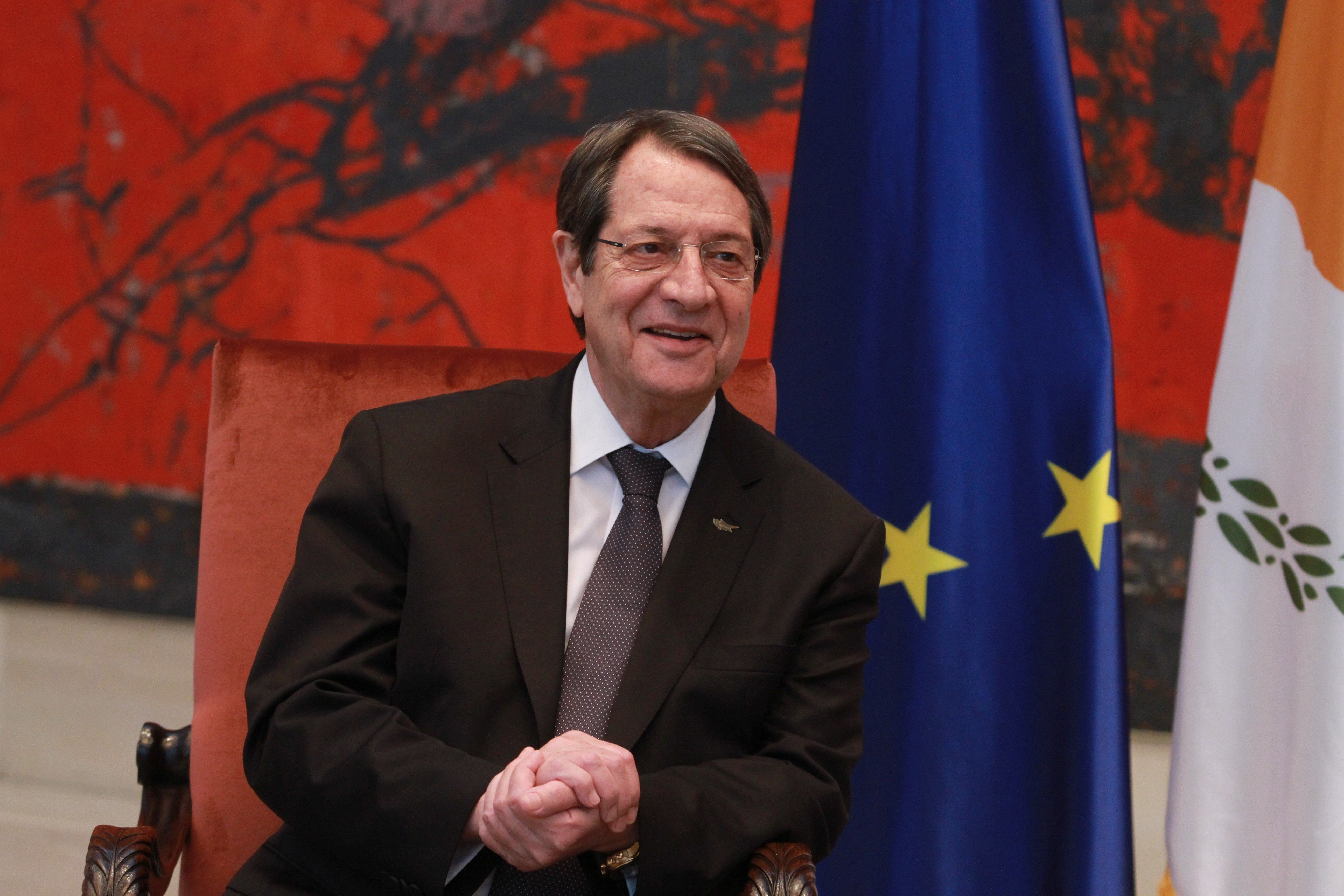 O Αναστασιάδής επιθυμεί νέο γύρο διαλόγου για το Κυπριακό αρκεί να γίνονται σεβαστές οι παράμετροι που θέτει ο