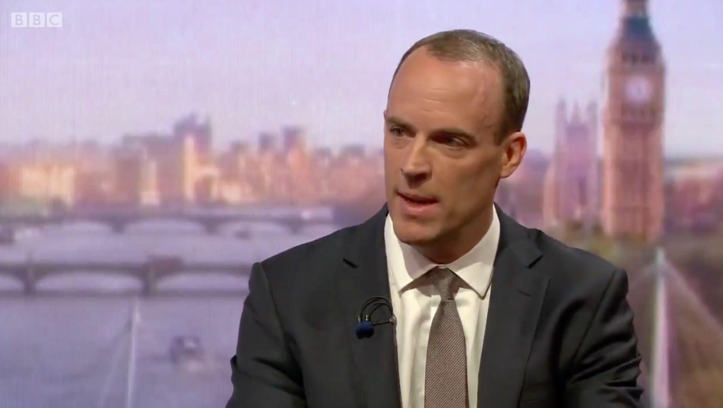 Brexit Secretary Dominic Raab Refuses To Deny UK Stockpiling Food In Case of 'No