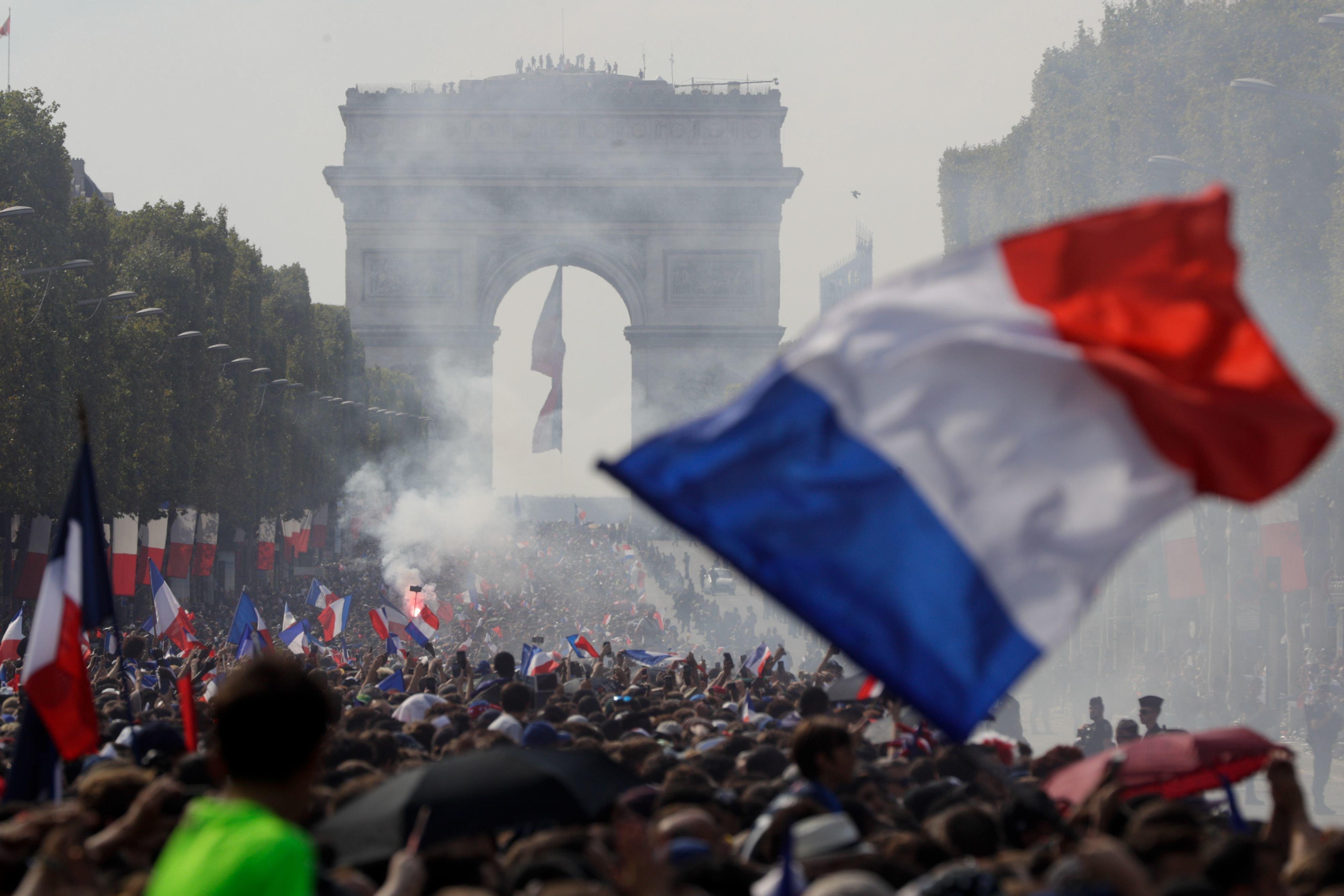 Η εθνική Γαλλίας και το πατριωτικό βίωμα των