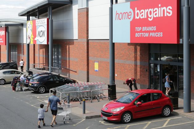 The Home Bargains store inWorcester, where the attack happened in July