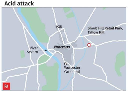 Boy, 3, Seriously Injured After Suspected Acid Attack At Worcester Home