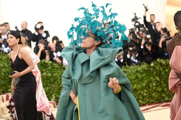 Frances McDormand at the annual Metropolitan Museum of Art gala this May in New York.