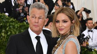 NEW YORK, NY - MAY 07:  David Foster and Katharine McPhee attends the Heavenly Bodies: Fashion & The Catholic Imagination Costume Institute Gala at The Metropolitan Museum of Art on May 7, 2018 in New York City.  (Photo by Dia Dipasupil/WireImage)