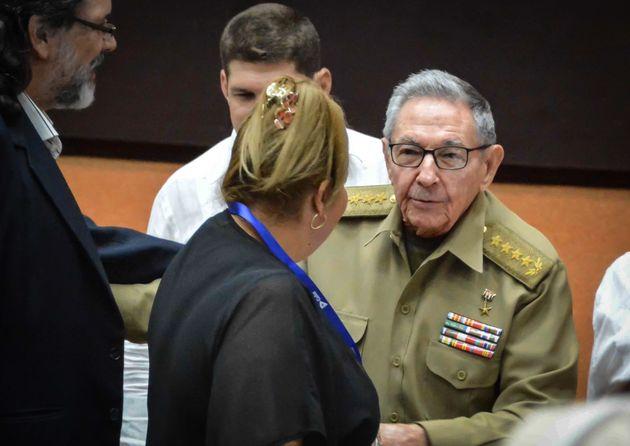 쿠바 국가평의회 의장 라울 카스트로가 지난 21일 국회를