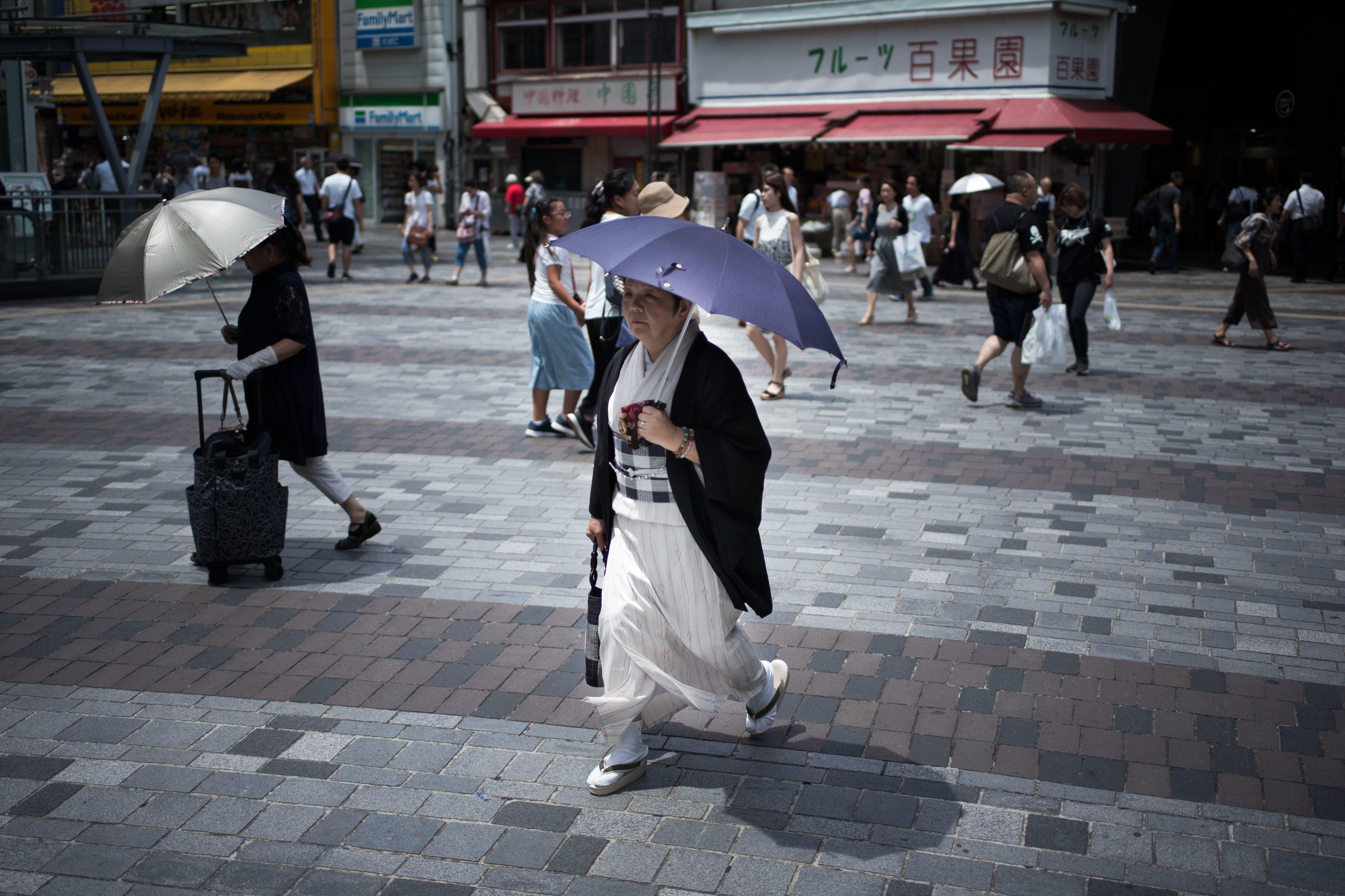 Ιαπωνία: Τους 41,1 βαθμούς Κελσίου έφτασε η θερμοκρασία στη χώρα, σημειώνοντας