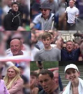Police Want To Speak To These 9 'Free Tommy Robinson' Protesters After Demo Descends Into