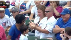 Cubs Fan Takes Foul Ball From Kid But The Little Guy Still