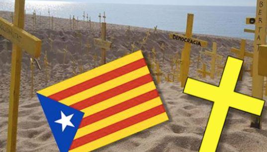 Si vous partez en vacances en Espagne, vous risquez de tomber sur ces croix