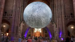 Artist Reunited With 7-Metre Moon Replica That Went Missing In The