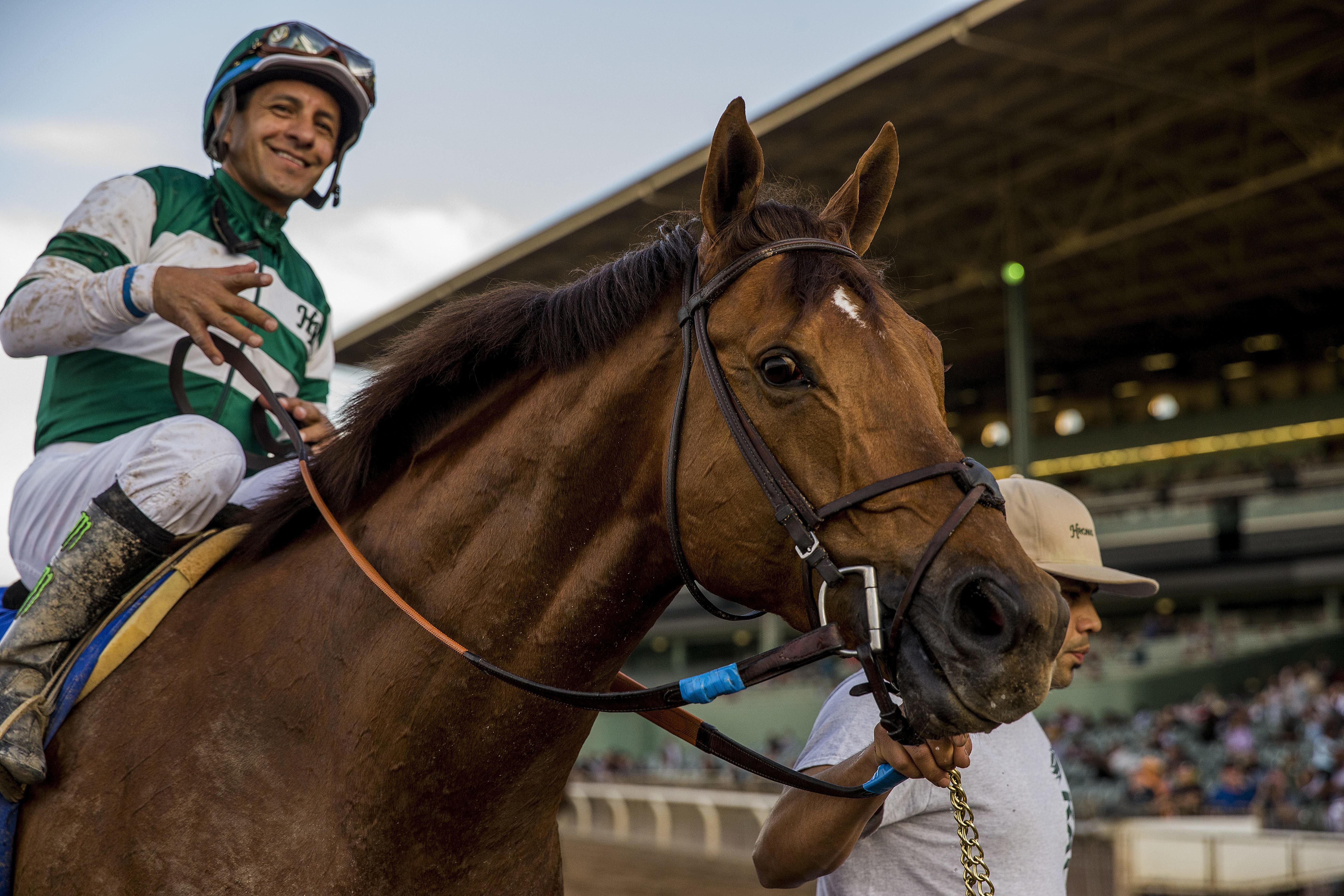 Jockey Victor Espinoza Injured After Horse Suffers Sudden Cardiac Arrest,