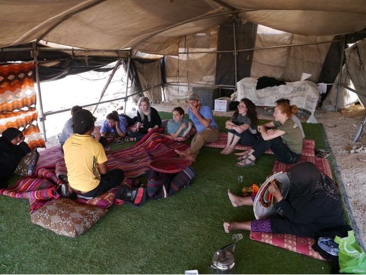 Awdah, a Palestinian Bedouin community activist, told meand my fellow Birthright walkoffs about fighting for the surviv