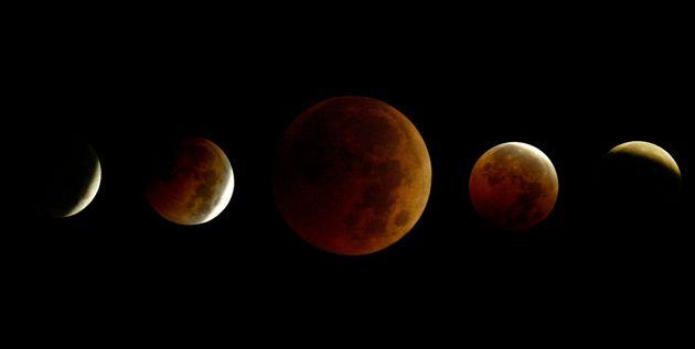 La plus longue éclipse de la lune du 21e siècle visible