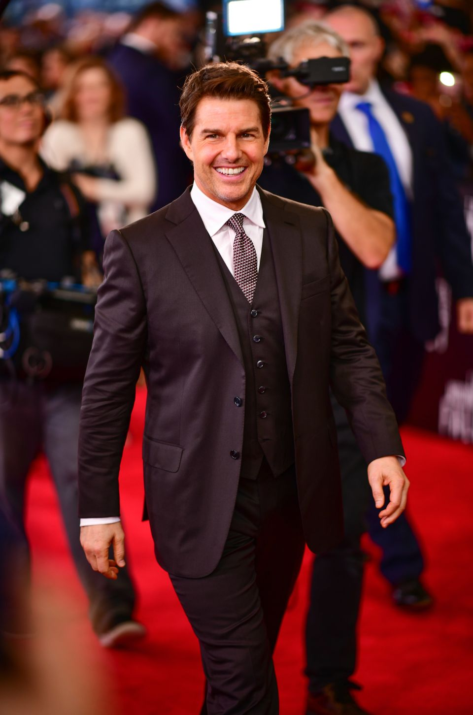 WASHINGTON, DC - JULY 22:  Tom Cruise attends the 'Mission: Impossible - Fallout' U.S. Premiere at Lockheed Martin IMAX Theat