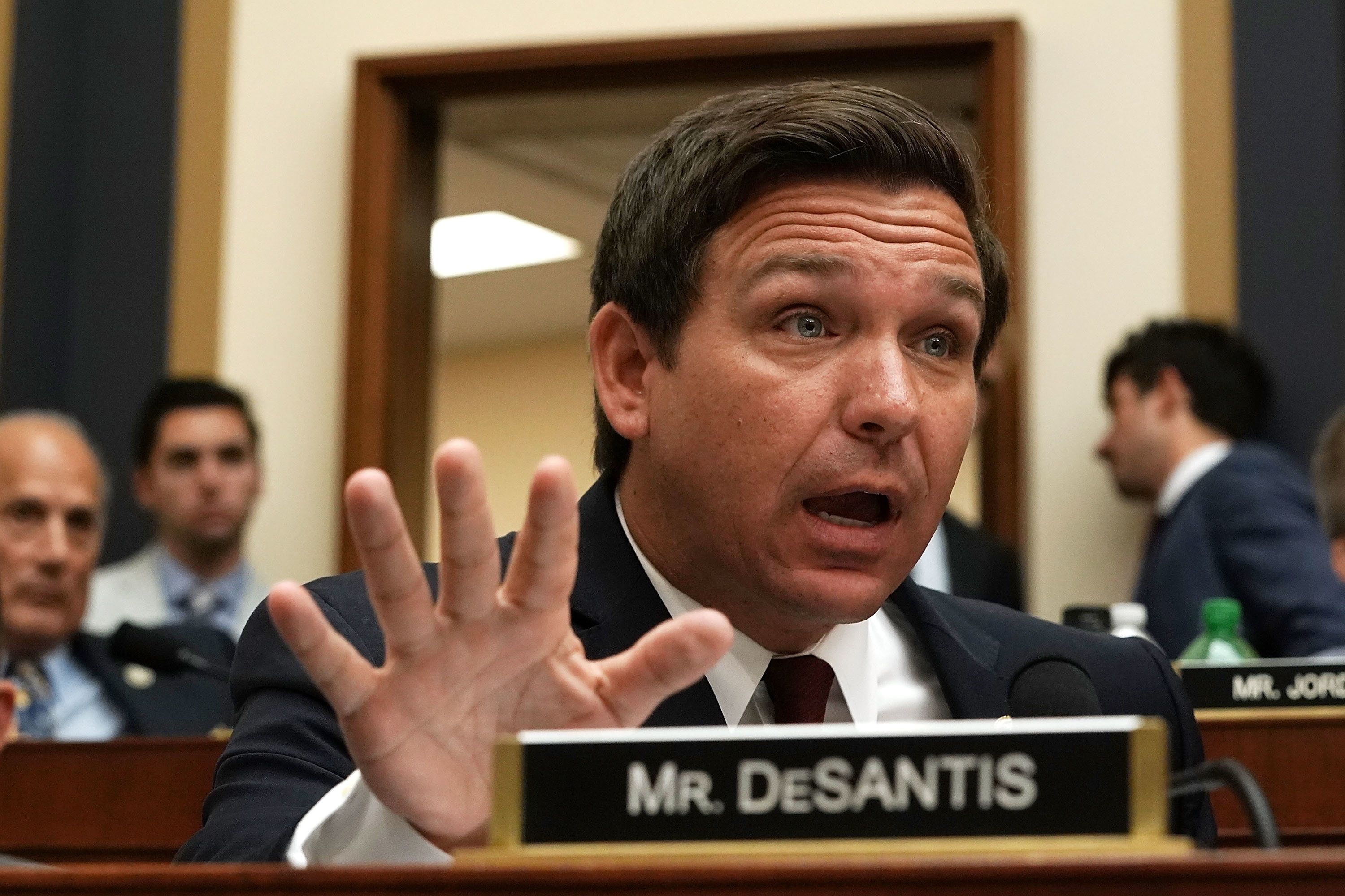 WASHINGTON, DC - JUNE 28:  U.S. Rep. Ron DeSantis (R-FL) speaks during a hearing before the House Judiciary Committee June 28, 2018 on Capitol Hill in Washington, DC. While scheduled to discuss the Justice Department Inspector general report released this month on the FBI's handling of the Hillary Clinton email investigation, Republicans were expected to use the opportunity to press for release of documents subpoenaed by the committee that detail FBI actions in 2016.  (Photo by Alex Wong/Getty Images)