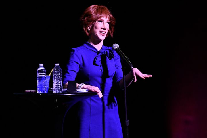 Kathy Griffin performs during her Laugh Your Head Off Tour at Dolby Theatre on July 19, 2018, in Hollywood, California.