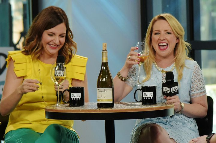 """Kristin Hensley and Jen Smedley, the hosts of the comedic web series """"#IMomSoHard,"""" offered another funny take on Costco shopping trips."""