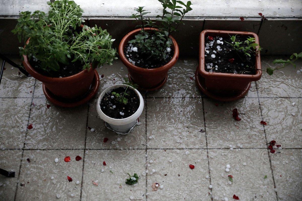 Θεσσαλονίκη: Προβλήματα λόγω καταρρακτώδους βροχής και