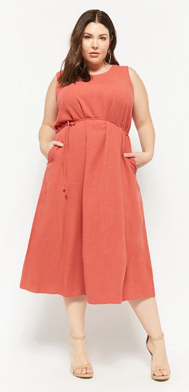 f325e1cf6611 16 Plus-Size Linen Dresses That Don't Look Like Baggy Shirts ...