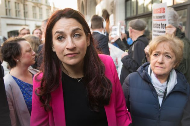 Labour MPs Luciana Berger and Margaret Hodge