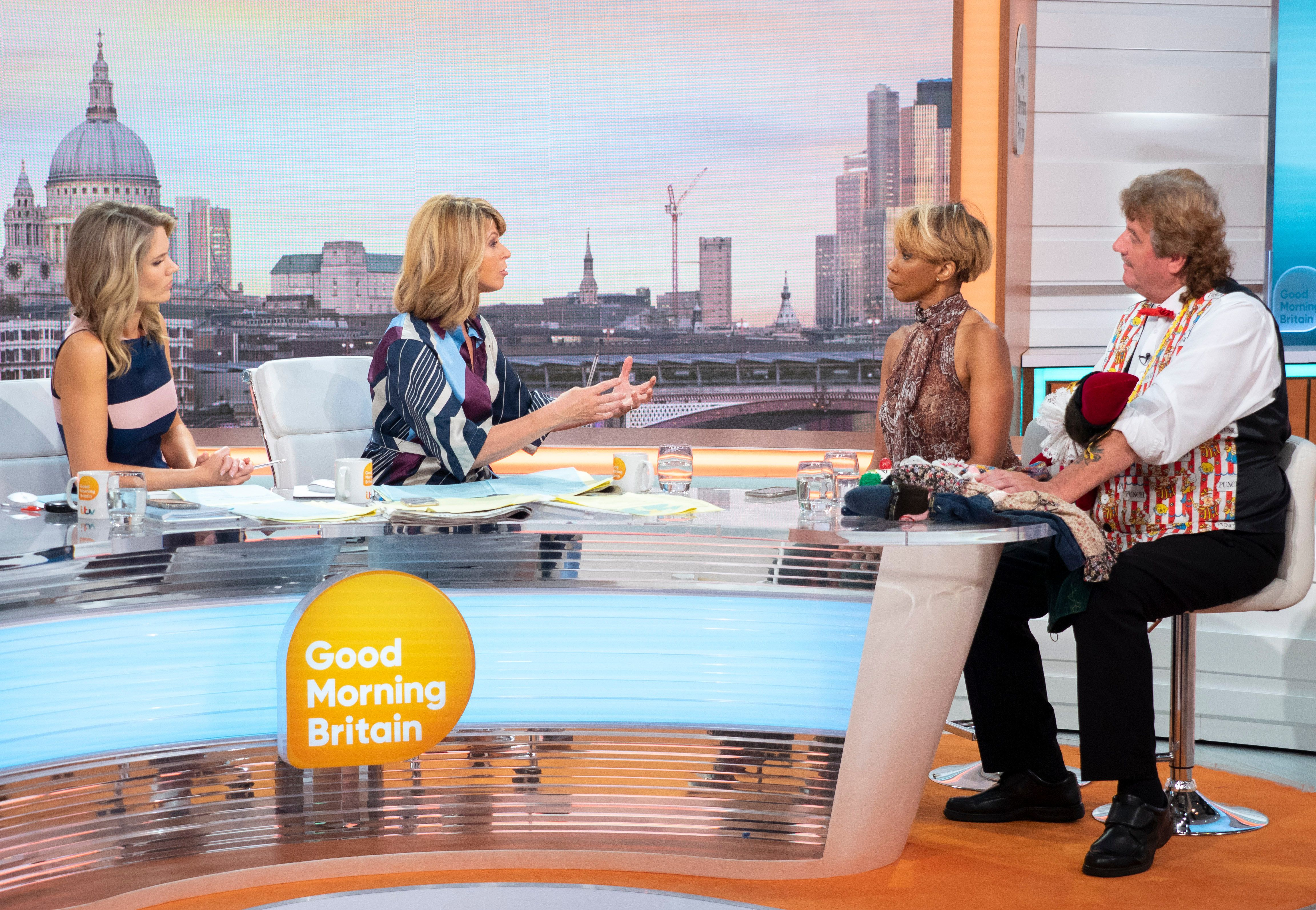 Kate Garraway Asks 'Good Morning Britain' Guest To Remove Offensive