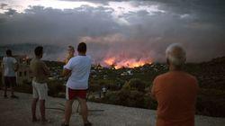 De violents incendies en Grèce font au moins 50 morts et une centaine de blessés