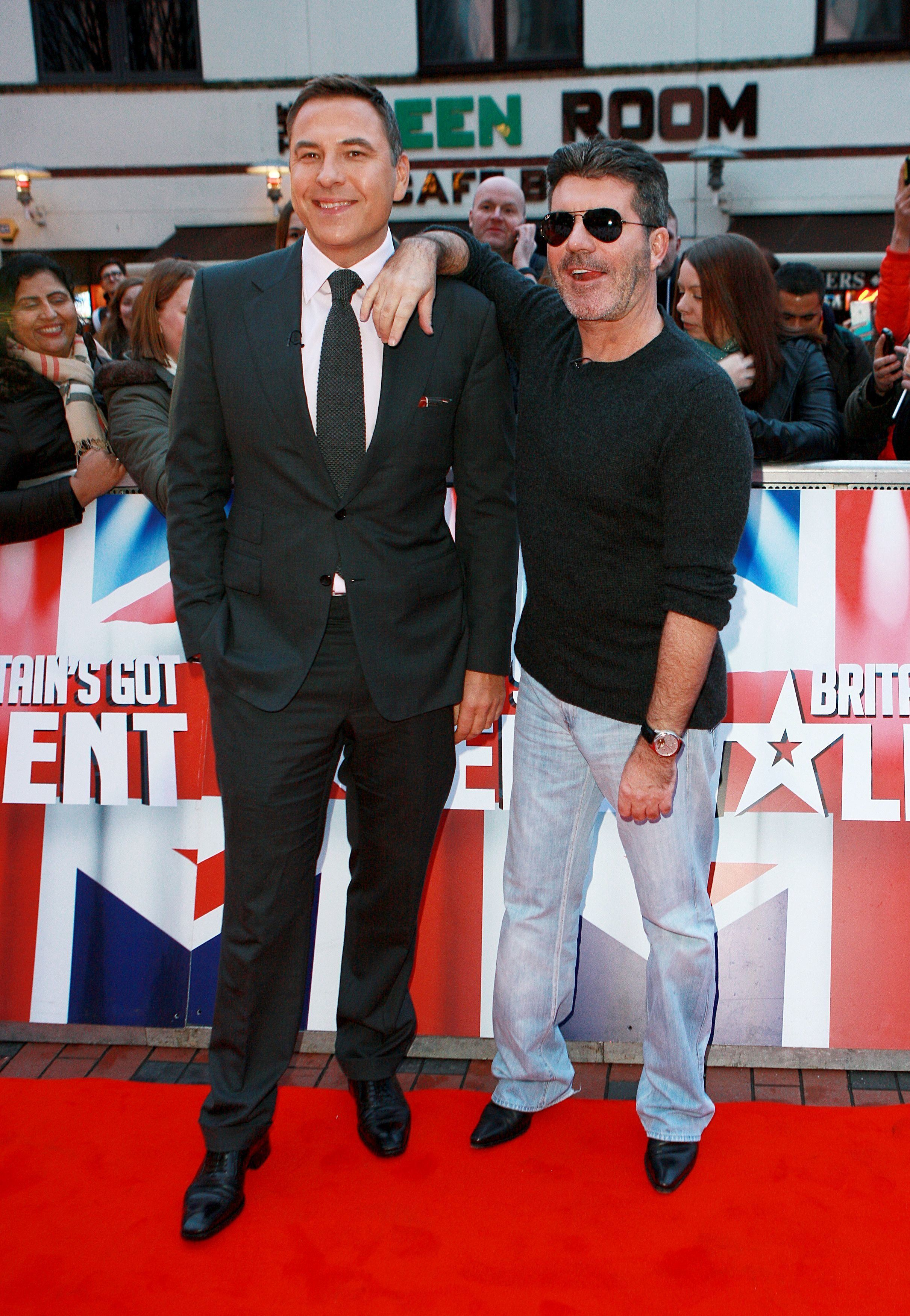 David Walliams Pokes Fun At Simon Cowell's Cosmetic