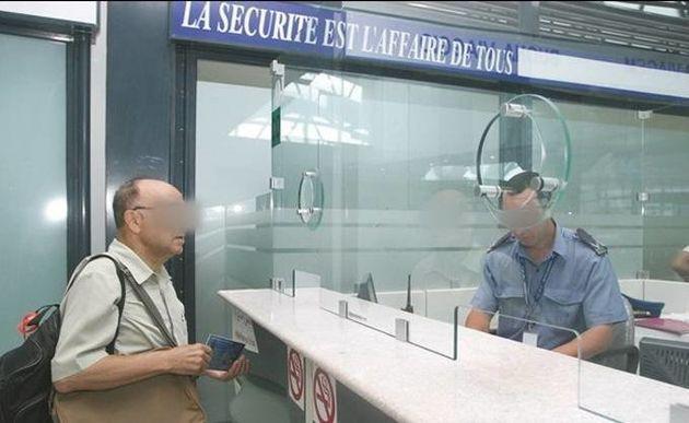 Le chef de la PAF à l'aéroport d'Alger