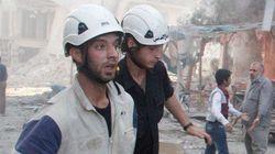 포화 속 마지막 희망 '하얀 헬멧'마저 시리아를