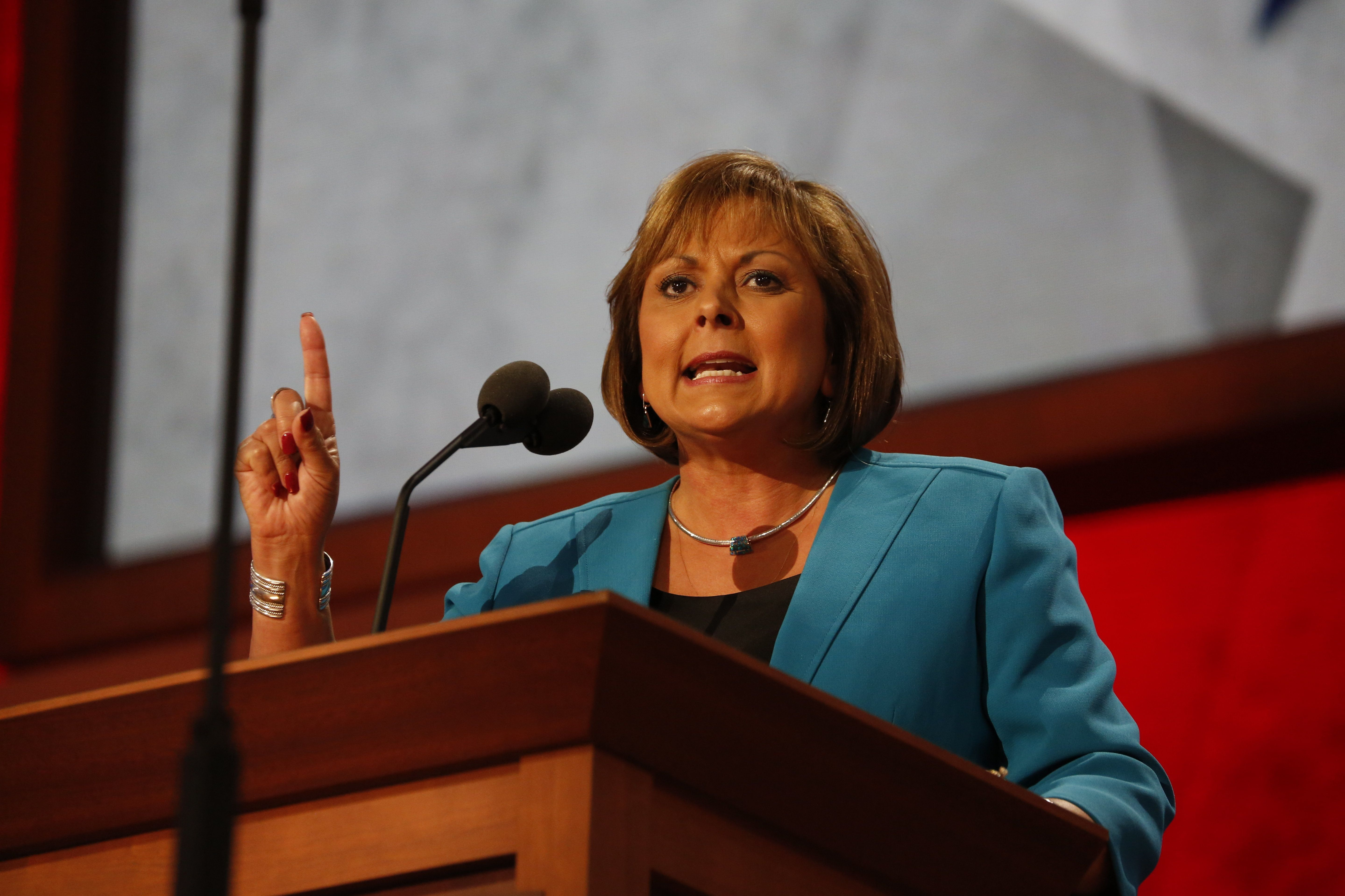 New Mexico Gov. Susana Martinez (R) has touted progress the state's public education system has made under her administration